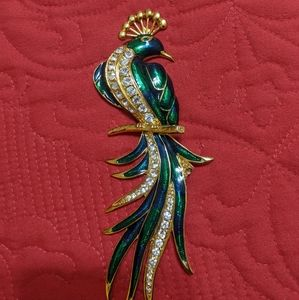 A Peacock Brooch